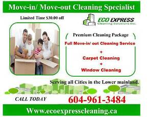 Move in/ Move out  Cleaning Services North Shore Greater Vancouver Area image 1