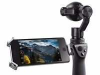 DJI Osmo+ 4K Image stabilised Video Camera & Extras