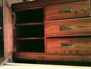 4pc Light Ash Bdrm Furniture set for Queen size bed - $375 obo