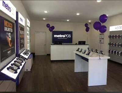 Cellphone Store Furniture Fixtures Display Register Cashier Metropcs Retail