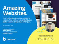 Better Website Design Built in Canada. Starting from $49/Month