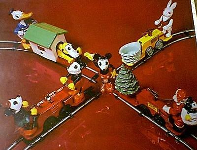 LIONEL MICKEY MOUSE HANDCAR POSTER 1100 1103 1105 ETC.!