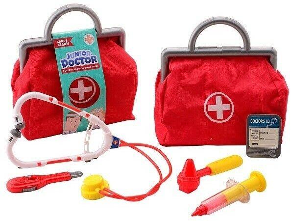 Arztkoffer Arzttasche für Kinder 6 teilig  NEU