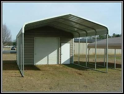 Pre-fabbarnssteel Buildingscarportsgaragesrv Portsutility Buildingssheds