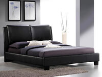 3 DAY SALE, Platform bed in Black, White OR Brown - $699