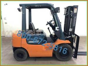 QUALITY USED FORKLIFT MEET YOUR NEEDS AND BUDGET