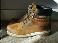 Mens Caterpillar Boots size 10