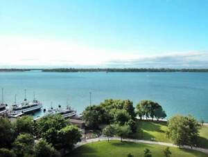 $2400 - 33 Harbour Square 1bed/ 1bath Stunning Lake-view Condo