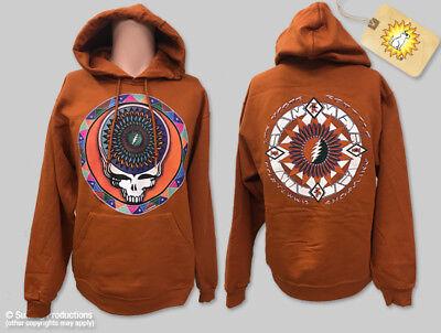 Grateful Dead Steal Your Feathers M, L, XL Burnt Orange Hoodie](Grateful Dead Hoodie)
