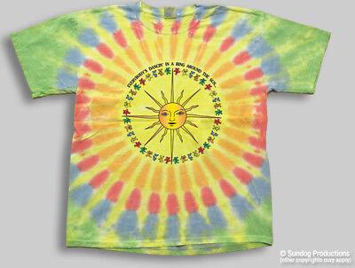 Grateful Dead Dancing Bears Around the Sun Size XL Reprint of this great shirt!  - The Grateful Dead Bears