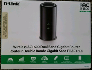 D-Link Wireless AC1600 Dual Band Gigabit Router