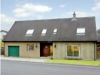 Self catering holiday home Newtonmore, sleeps 8 October availability