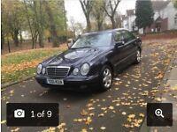 2001 (51) MERCEDES-BENZ E240 ELEGANCE AUTOMATIC 2.6 PETROL **FULL SERVICE HISTORY + DRIVES GOOD**