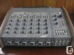 Traynor 6400 Mixer-Amplifier