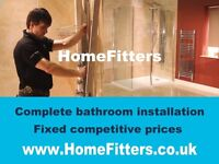 Fit your bathroom for less with home fitters complete bathroom installation in London