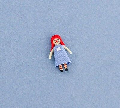 Adorable 1/12 Scale Dollhouse Miniature Raggedy Ann Rag Doll #D2318-74