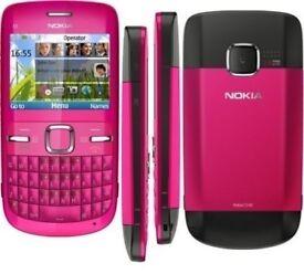 Original Nokia C3-00 Wifi Qwerty Keypad Camera Mobile Bar