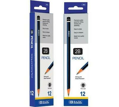 BAZIC #2B Premium Wood Pencil