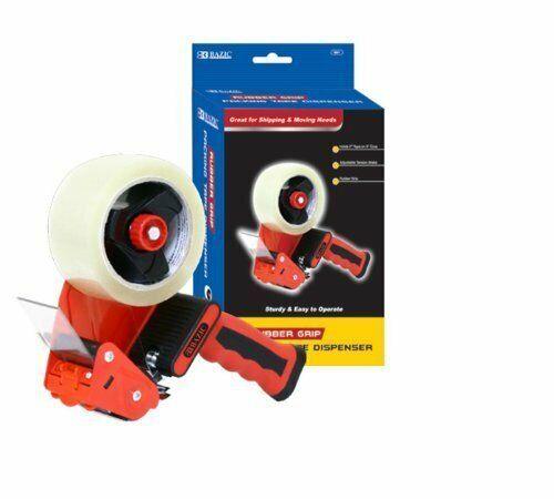 """BAZIC Heavy Duty Rubber Grip Tape Gun Dispenser Packaging Tape Dispenser 2"""""""