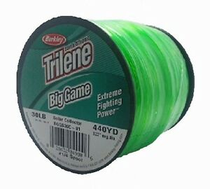 Berkley trilene big game fishing line 1 4 lb spool 30 lb for 30 lb fishing line