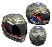 Tiger Motorcycle Helmet