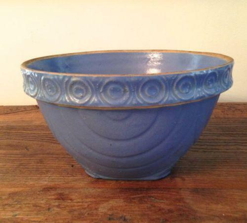 Antique Crock Bowl Ebay