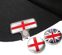England Elite Hat Or Cap Clip With English And Union Jack Golf Ball Markers - asbri golf - ebay.co.uk