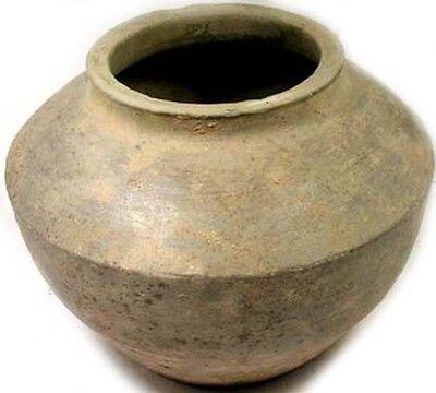 200BC Superb Ancient China Han Dynasty Wheel Turned Large Earthenware Clay Jar