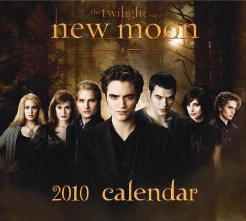 TWILIGHT 2010 Calendar Robert Pattinson KRISTEN STEWART SEALED Kellan Lutz