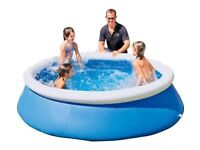 Bestway Quick Up Octagonal Family Pool Garden Paddling Pool 8ft - 2300 Litres_UK