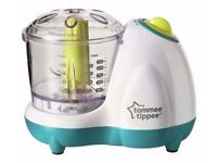 Tommee Tippee Baby Food Blender Small Masher Maker Chopper in original package free p&p