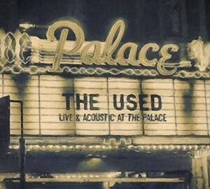Live and Acoustic at the Palace * by The Used (CD, Apr-2016, 2 Discs, Hopeless …