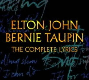 Elton John & Bernie Taupin-The Complete Lyrics-softcover book