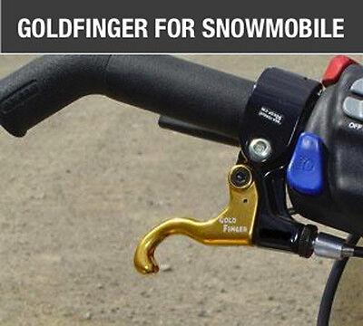 Goldfinger Left hand throttle kit for Ski-Doo, Rev, Summit, XM, XP, Renegade