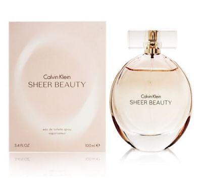 Ck Sheer Beauty By Calvin Klein 3 3   3 4 Oz Edt Spray Nib Sealed Perfume Women