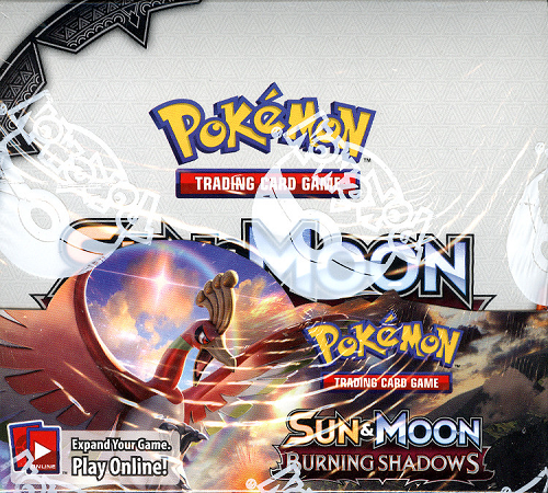 POKEMON TCG SUN & MOON BURNING SHADOWS BOOSTER SEALED BOX ENGLISH - IN STOCK!