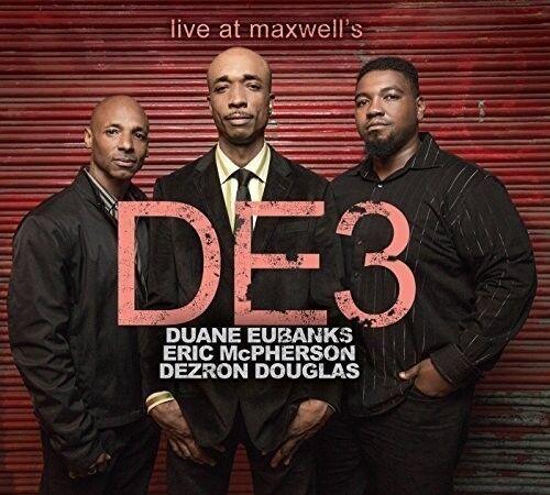 De3 - Live At Maxwell's [New CD]