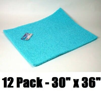 "(12) Dial # 3074 30"" x 36"" Pre-Cut Non Allergenic Evaporative Swamp Cooler Pads"