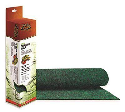 Zilla Reptile Terrarium Bedding Substrate Liner Green 55G