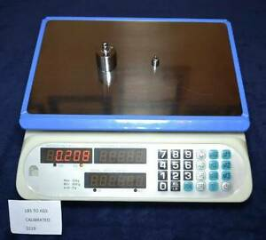 Digital Scale for Shipping or Retail. Dual Display