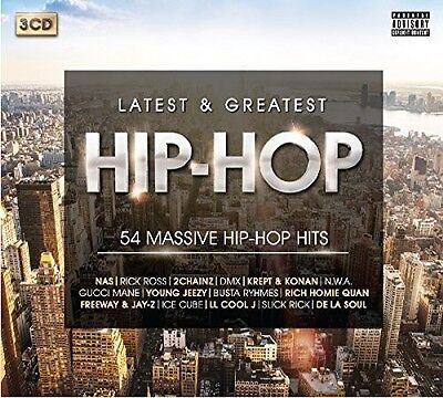 Various Artists - Latest & Greatest Hip-Hop Anthems / Various [New CD] UK - Impo