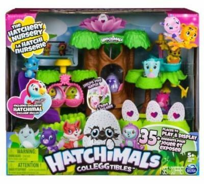 Hatchimals Hatchery Nursery Playset With Exclusive Hatchimals Colleggtibles New