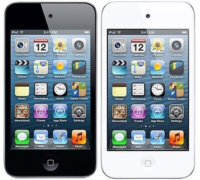 Ipod Touch - Apple iPod Touch 4th Generation Black or White 8GB 16GB 32GB 64GB *Refurbished*
