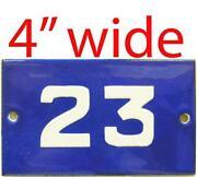 Enamel Door Number