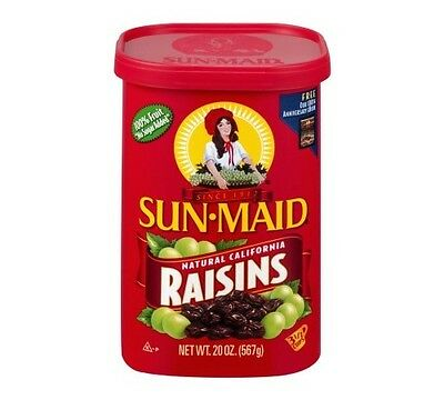 Sun-Maid Natural California Raisins, 20.0 OZ