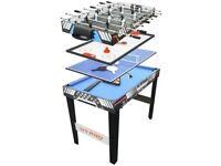 4 in 1 Games Table 754/5142 UK Seller