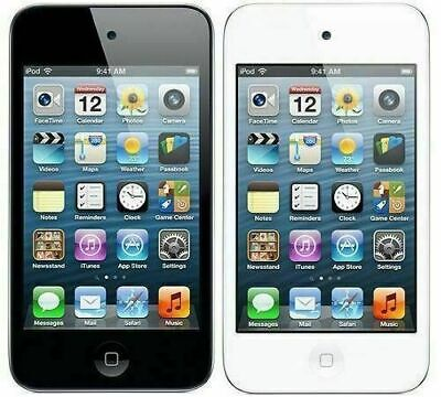 Apple iPod Touch 4th Generation 8GB 16GB 32GB 64GB White/Black Colors MP3 Player