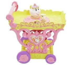 Disney Princess Belle Tea Party Cart Playset A