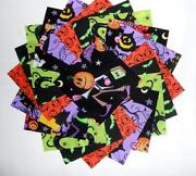 Halloween Print Fabric
