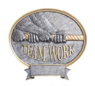 Employee Of The Month Teamwork Tug-o-war Trophy Award P54640gs Free Lettering